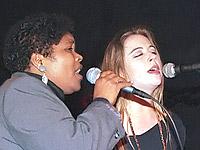 Maria Alice e a Filipa Pais